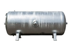 Tank 90L (11 bar) Galvanized - Horizontal
