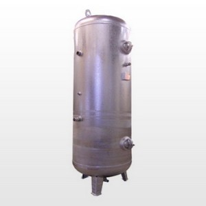 Tank 2000L (11 bar) Galvanized - Vertical