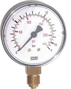 FRL: Pressure Gauge (V) for Painted Receiver 1/4""
