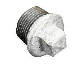 "FRL Closing Plug, 3/8"", 25 bar, Malleable cast iro"